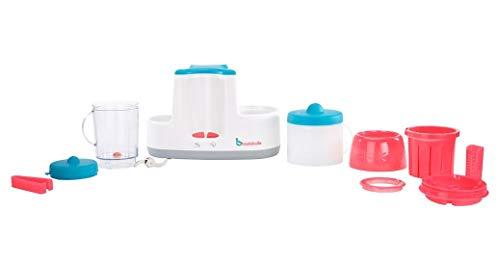 Badabulle Baby Station 4-in-1 Babynahrungszubereiter, Dampfgaren, Mixen, Erwärmen von Fläschchen und Babybrei, Auftauen - 7