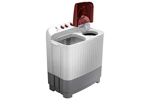 Samsung 7.5 kg Semi-Automatic Top Loading Washing Machine (WT75M3000HP/TL, Light Grey)