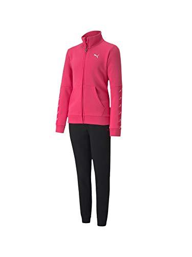 PUMA Chandal Niño Sweat Suit Rosa/Negro 583318-25