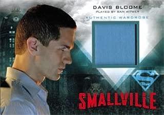 Smallville Seasons 7 thru 10 M10 Wardrobe Costume Card Davis Blue Shirt