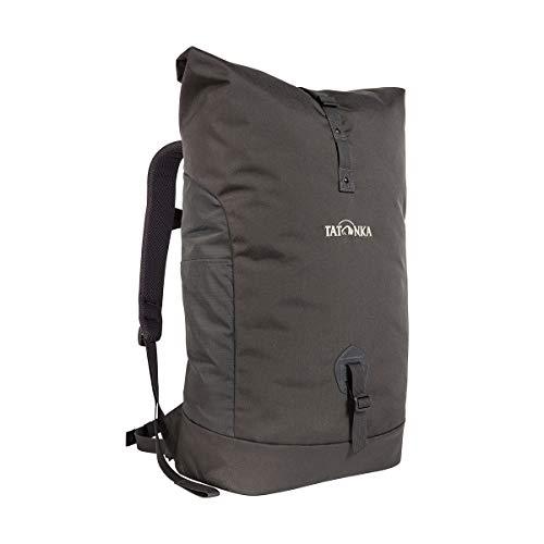 """Tatonka Kurierrucksack Grip Rolltop Pack - Daypack mit 10-Jahren Produkt-Garantie und 15"""" Laptopfach - Tagesrucksack für Damen und Herren - 34 Liter - titan grey"""
