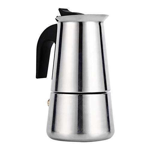 Wlać czajnik do kawy, ekspres do kawy ze stali nierdzewnej Ekspres do kawy Espresso Kuchenka Do użytku domowego w kuchni domowej Kawiarnia 100 ml/200 ml/300 ml/450 ml (100 ml)
