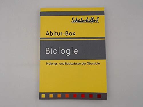Biologie - Prüfungs- und Basiswissen der Oberstufe (Schülerhilfe Abitur-Box)
