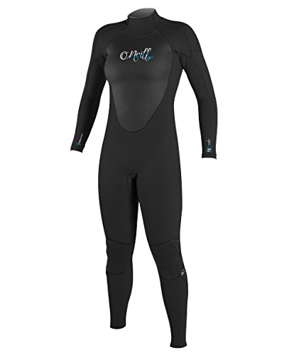O'Neill Wetsuits Women's Epic 4/3 mm Full Suit (Black, 2)