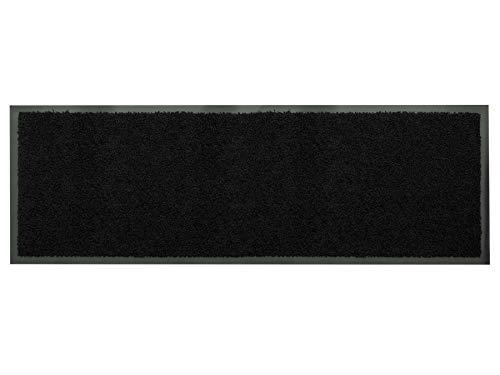 Primaflor - Ideen in Textil Küchenläufer Küchenvorleger Schmutzfangmatte Dancer - Schwarz, 60 x 180 cm, Küchenteppich Schmutzfangläufer