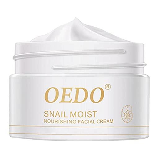 BRAVOSOLEIL Crema Hidratación Anti-envejecimiento Anti-Arrugas Crema para La Cara Reafirmante De La Piel Cuidado Esencia Blanqueadora para La Piel Hidratante 40g