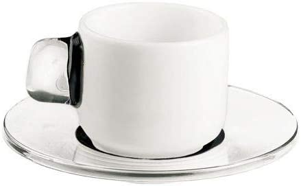 TRS-style In 12 piece espresso cup Credence acrylic with handle s Today's only and set