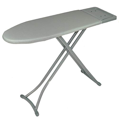Z-Hawvii Z-W-DONG Hotel Ironing Board, Widen U-shaped Ironing Board Metal Silver Ironing Table, With Solid Steam Iron Rest 113 * 32 * 85CM Ironing Boards (Color : Gray, Size : 113 * 32 * 85CM)