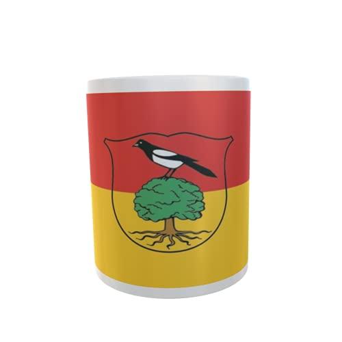 U24 Tasse Kaffeebecher Mug Cup Flagge Elstra