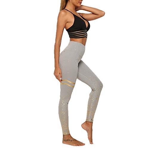 DEEWISH Hosen Damen, Frauen Leggings Hose Yogahose Sport-Leggings Jogginghose | Sport Fitness Workout Leggins | Stretch Yoga Hosen Pants | Sporthose