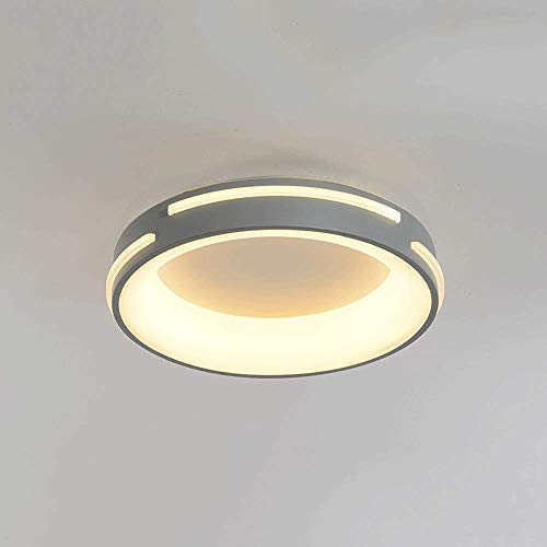 WANQINV Lámpara de Techo LED incrustada nórdica Moderna 3.94in 28W-38W Threen-Color Threen-Threen-Threen-Threint Lámpara de Techo acrílico, Adecuado para Sala de Estar, Dormitorio, Sala de Estudio