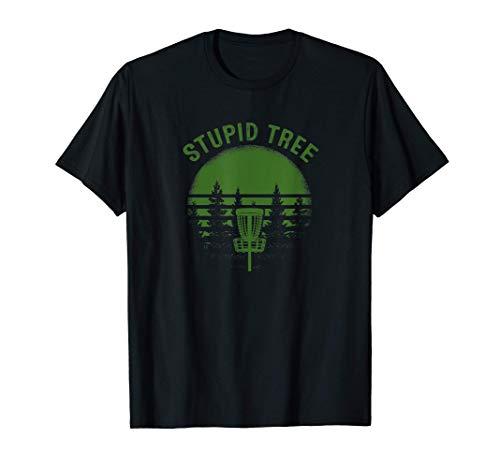 stupid tree disc golf frolf