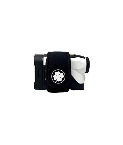 Parsaver Rangefinder Magnetic Strap - Ultra Slim Magnetic Wrap - Quickly Access Range Finder Magnet Holder for Golf Cart - Rangefinder Strap fits Most Popular Models (Black)