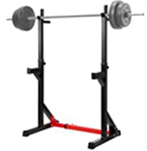 RBtoday Home Indoor Fitness Adjustable Multi-Function Barbell Stand Squat Bench Press Trainer - for Home Gym Workout Exercise Body Training
