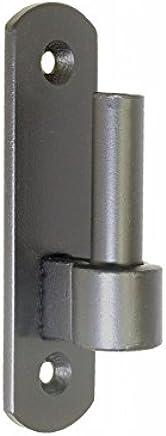 Dorn /Ø 13 mm hell verzinkt Pollmann Baubeschl/äge 1070430 Plattenhaken D4 1-fach verstellbar 2 St/ück