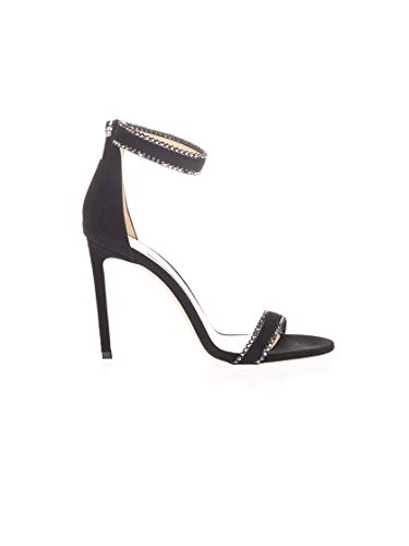 JIMMY CHOO Luxury Fashion Damen DOCHAS100WJTBLACK Schwarz Sandalen |