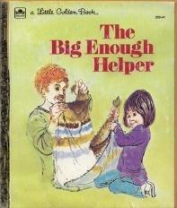 Hardcover The big enough helper Book