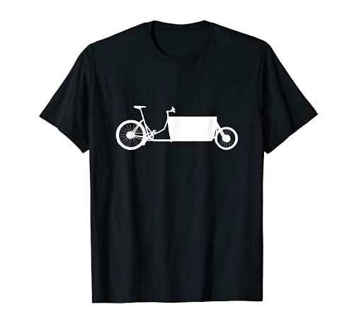 Lastenrad für den Fahrradkurier T-Shirt
