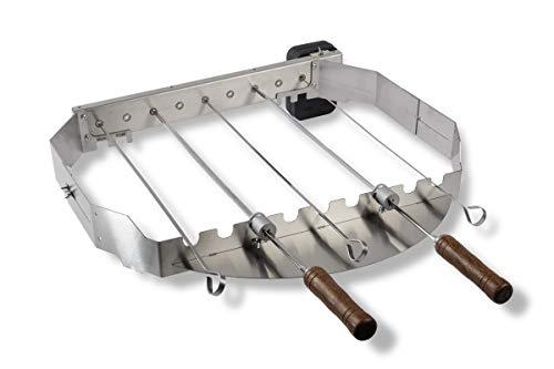 Moesta-BBQ 19235 - Turnado Elektrischer Spießdreher für Smokin' PizzaRing für Kugel-Grills mit 57cm / 60cm Durchmesser