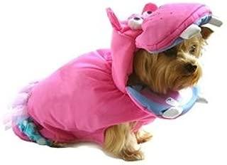 Halloween Pink Hippo Dog Costume