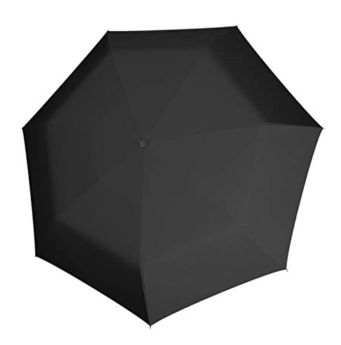 Doppler Taschenschirm Zero Magic Large   Größeres Schirmdach   Regenschirm für Unterwegs in Large (Uni Simply Black)