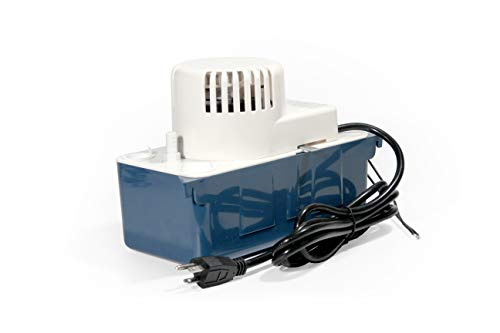Refcenter Condensate Removal Pump RTP20WS115V,Automatic Snap-action Switches, 1/2 Gallon Rustproof, High Impact ABS tank