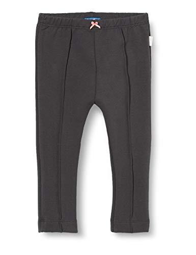 Sanetta Baby-Mädchen Seal Grey Modische Sweat-Leggings zurückhaltendem Blau Kidswear, grau, 068