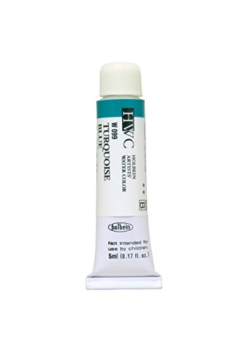 Holbein Artists Watercolor - Turquoise Blue 5ml