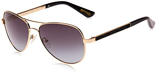 Guess by Marciano Sonnenbrille GM0754 32B 60 Gafas de sol, Dorado (Gold), 60.0 para Mujer
