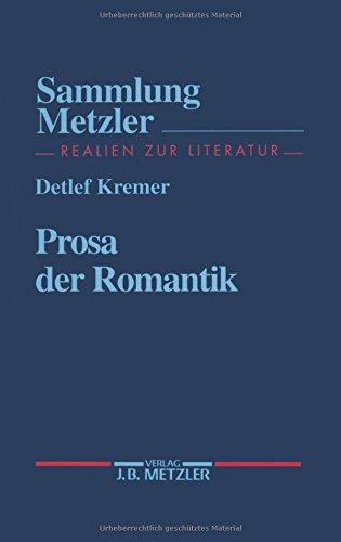 Prosa der Romantik (Sammlung Metzler)