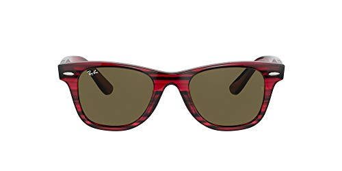 Ray-Ban 0RJ9066S Gafas, Striped Red, 47 Unisex