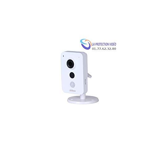 Dahua - Carré DAHUA IP WiFi 3MP 2.8 mm IR10m Détecteur PIR dWDR 12Vdc Slot SD