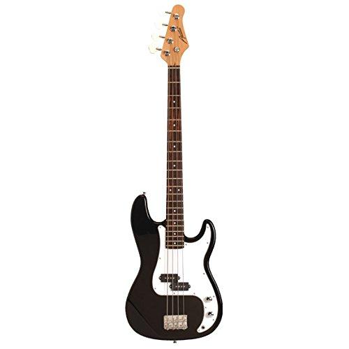 Austin Guitars APB200BK - Bajo eléctrico, color negro
