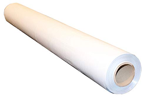 US Energy Products 250sqft (2ft Wide) of NASA TECH Commercial Grade Solid White Finish Non Perforated No Tear Radiant Vapor Barrier Reflective Insulation Solar Attic Foil Roof Attic House Wrap