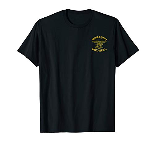 South Korean Navy Special Forces UDT SEAL T-Shirt