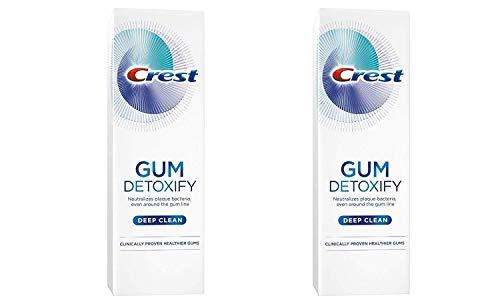 Crest Gum Detoxify Toothpaste, Deep Clean, 4.1 oz (116g) - Pack of 2