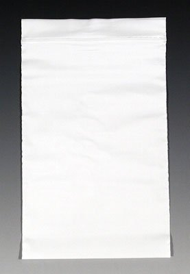 Lowest Prices! 9 x 12 Colored Reclosable Poly Bag - White (2 mil) (1000 Bags) - AB-270-35W