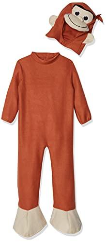 Rubie's Unisex-Child Curious George Costume, Monkey, Small