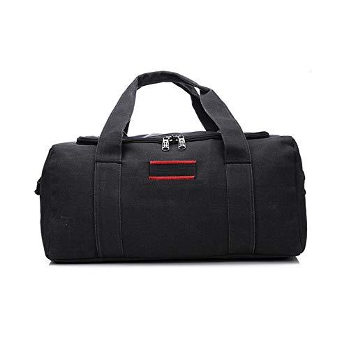 Briefcase LRYYCN New Men and Women Travel Bag Large Capacity Multifunctional Hand Bag Waterproof Luggage Bag Business Travel Bags Size Darkgrey