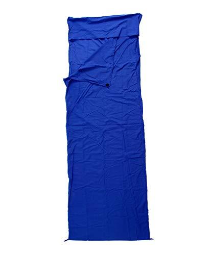 Basic Nature Unisexe Polycoton Momie coutil Taille Unique Bleu