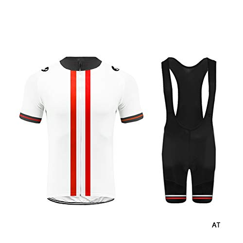Uglyfrog-2019 Bike Wear Rennrad MTB Radtrikot/Oberteil Fahrradbekleidung Set Trikot Kurzarm + Radhose mit Sitzpolster Triathlon Bekleidung Anzüge