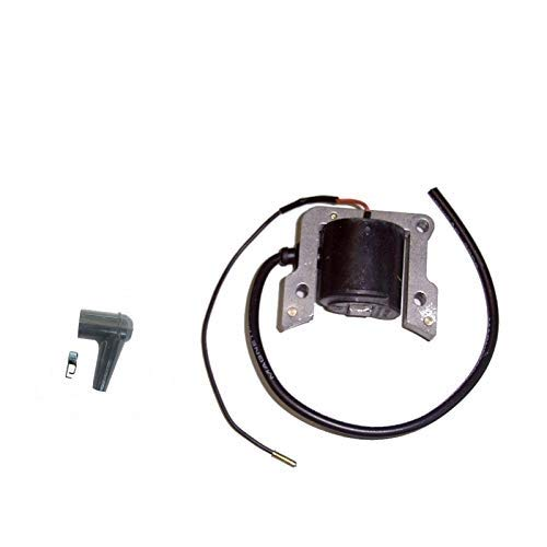 PARTSRUN #1111 400 1303#1124 400 1308 Electronic Ignition Coil for STIHL 050, 051, 056, 075, 076, 084, TS510, TS760,ZF-IG-A00615