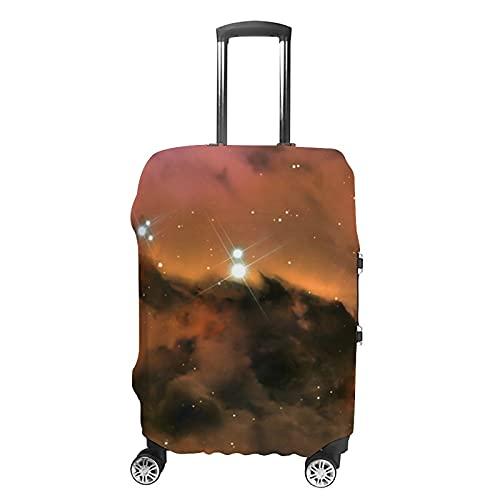 Science Fiction 3D-Muster Gepäckschutz Kofferabdeckung, Weiß - Science Fiction2 (Weiß) - GH1888