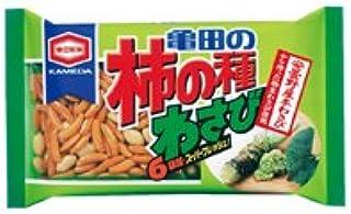 亀田製菓 亀田の柿の種わさび6袋詰 210g 1ケース(12袋)
