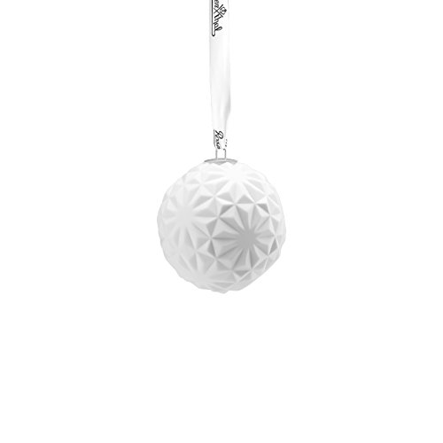 Rosenthal Porcelaine Balle Snowball Motif 7, blanc mat, 10 cm