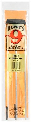 Hoppe's No. 9 Gun Cleaning Aluminum Rod, .22 Caliber Rifle