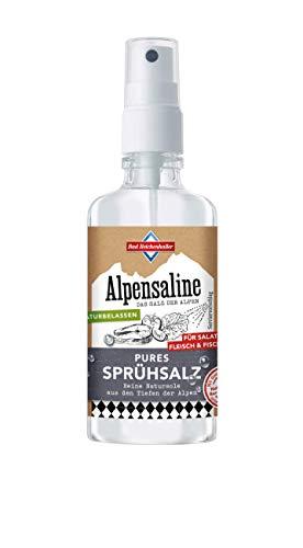 Bad Reichenhaller Alpensaline Pures Sprühsalz 120 ml, Durchsichtig, 1 stück
