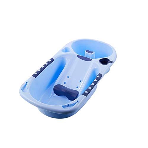 Adesign Portable del baño del bebé de Lavado Infantil Lavado de baño de hidromasaje Grande de plástico Forma cómodo Adecuado for Viajes y Uso en el hogar