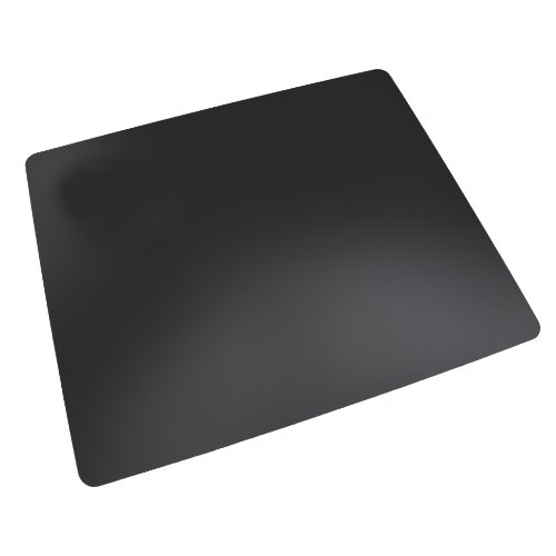 """Artistic 17"""" x 24"""" Rhinolin II Ultra-Smooth Writing Pad Desk Mat with Antimicrobial Protection, Black"""