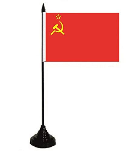 U24 Drapeau de table URSS Union soviétique 10 x 15 cm